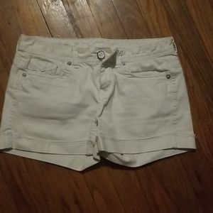 White maurices shorts